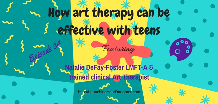 Art therapy can improve communication between parents and teens
