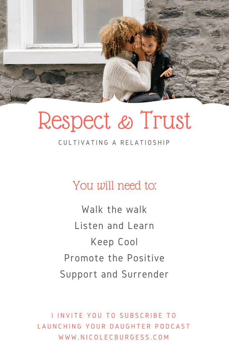 Cultivating trust and respect between parents and teen daughters.