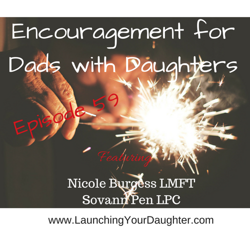 Father and Daughter relationships are special. Listen to words of encouragement during the teen years.