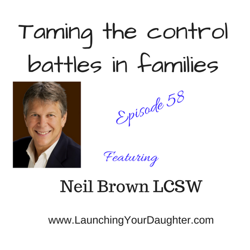 Neil Brown LCSW shares how parents can tame the beast with their teenager