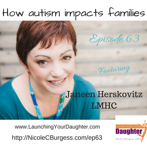 How autism impacts parents and teen girls