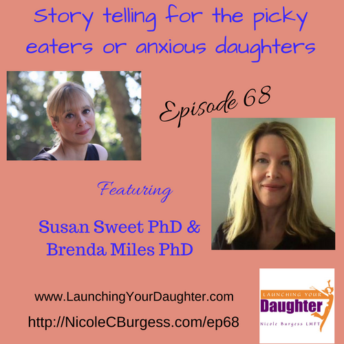 Brenda and Susan share how their story books help anxious young girls and picky eaters